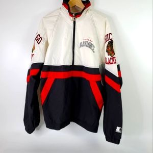 Vintage Chicago Blackhawks Starter Jacket Pullover